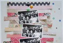 Scrapbooking with 6x6 / 8.5x11 and 12x12 layout designs that can or do use 6x6 papers / by Jennifer Wilson | Simple Scrapper