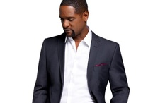 Blair Underwood Suit Style / Sleek, tailored fit suiting. Fresh colors and patterns. / by K&G Fashion
