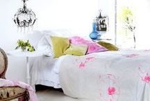 Home Decor. Bedroom. / Great Colour Combos | Beautiful Decor | Painting Inspiration | Pattern Mixing