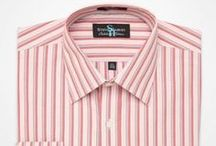 Steve Harvey: Patterned Dress Shirts / Striped, checked, and plaid dress shirts from Steve Harvey's signature clothing collection. / by K&G Fashion