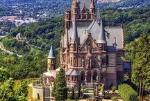 Castles / Castles as inspiration for my fantasy writing