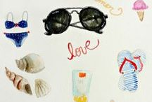 SUMMER / in love with summer: things to do in summer & other inspirations