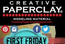 Creative Paperclay Materials / Many ways how to and many use for creative paper clay. Tips and tricks now for you to enjoy!