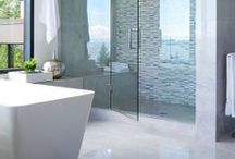 Bathroom Bliss / Step into a shower or sink into a luxurious bath tub from one of these blissful bathrooms.