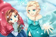 Frozen Ice queen / Many references and takes to a frozen Ice kingdom story