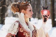 Queens and Princess / Cute photos with great accessories, costumes and hair do to inspire my art muse
