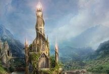 Mystical Places, cities and realms / Fantastics worlds