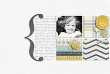 Scrap | Clean & Simple / Clean and simple scrapbook layouts that aren't complicated to create.