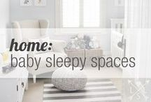 home | baby sleepy spaces / curated by M.M. Ching / by Life Styled Lovely