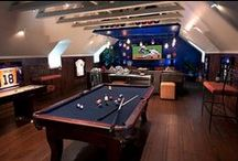 Man Caves Fit for the Superbowl XLIX / Take a look at our latest blog post highlighting our 'Top 10 Man Caves to Watch the NFL Superbowl XLIX in!' including yummy snacks, recipes and drink ideas - http://bit.ly/superbowl-blog