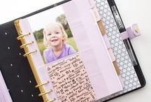 Simple Life | Planners / I take more of a practical approach to planners, saving my creative energy for scrapbooking. But that doesn't mean I don't want my planner to be pretty!