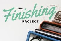 SS | The Finishing Project / http://go.simplescrapper.com/finish/  |  4-week, self-paced workshop. The Finishing Project will teach you how to be a scrapbooker who confidently and consistently finishes projects while gently guiding you through the process using your own real-life example.