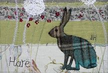 Hares / Star gazing, hopping, boxing in the snow or sniffing spring blossoms - it's all about hares!