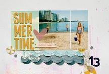 Scrap | Summer / Ideas for scrapbooking summer time. / by Simple Scrapper