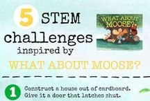 STEM Books and Activities / Picture books and activities that feature science, technology, engineering, and math (STEM).