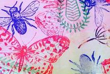 Printing | Textiles / Beautiful design ideas for printing onto fabric