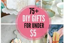 Homemade Gifts Rock / Great ideas for homemade gifts that rock - Give gifts that cost less, but mean more :) / by Meagan Paullin