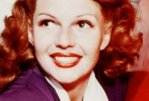 Hayworth, Rita.   Beautiful ! / Rita Hayworth was such a beautiful and talented woman! 1918-1987 & yes I was named after her :) Please follow me or my boards for unlimited pinning! Thank you!