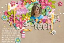 scrapbook pages / by bellaGdesigns