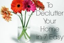 Homemaking / Tips to keep a clean and pretty home.