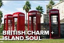 British Charm + Island Soul = Bermuda / From the London-style, bright red telephone booths to the traditional powdered wigs that members of Parliament sport, Bermuda is where island soul meets British charm. If you're an Anglophile, you'll find a lot to love here.