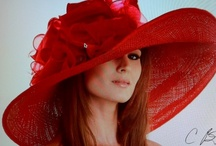 Hats, fascinators and other hair accesories