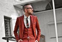Him // Fashion / by Erica @ Sakao Leather