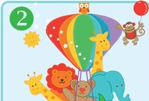 Colour Program / The Colour Take Home Program is the second program in the series. It is a 10 week early learning program with worksheets, weekly early learning videos and learning cards.
