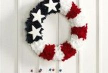 Patriotic / All things red/white/blue / by MakeitFunCrafts