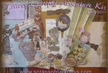 Challenges and Contests / Scraps of Darkness and Scraps of Elegance scrapbook kit clubs - challenges and contests