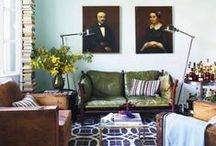 Green + Blue / Color Inspiration  / by Rina Vela Interior Design