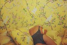 Yellow + Orange / Color Inspiration  / by Rina Vela Interior Design