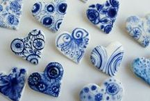 Things I Love - Blue and White