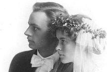 Antique and Vintage Wedding Portraits / Beautiful antique and vintage wedding portraits. #antiquewedding #vintagewedding #antiqueweddingpictures #vintageweddingpictures #vintageweddingportraits #antiqueweddingportraits