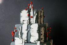 Cakes: Winter / Winter themed wedding cakes.   #wedding #cake #weddingcake  #winterwedding #wintercake #winterweddingcake  #winterwonderland #winterwonderlandwedding #winterwonderlandcake #winterwonderlandweddingcake