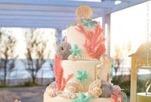 Cakes: Beach and Nautical / Beach and Nautical inspired wedding cakes. #wedding #cake #weddingcake #nauticalwedding #nauticalcake #nauticalweddingcake #beachwedding #beachcake #beachweddingcake