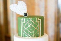 Cakes: Art Deco and Art Nouveau / Gorgeous art deco and art nouveau inspired wedding cakes. #wedding #cake #weddingcake #artdeco #artdecowedding #artdecoweddingcake #artnouveau #artnouveaucake #artnouveauweddingcake