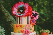 Cakes: Latin and Southwestern Inspired / Vibrant and colorful Latin inspired wedding cakes. #wedding #cake #weddingcake #latincake #latinweddingcake #spanishwedding #spanishcake #spanishweddingcake #mexicanwedding #mexicancake #mexicanweddingcake #diadelosmuertos #diadelosmuertoswedding #diadelosmuertosweddingcake