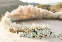 Aisles and Altars: Rustic / Rustic styled wedding aisles and altars. #wedding #rusticwedding #rusticweddingstyle #rusticthemedwedding #rusticweddingdecor