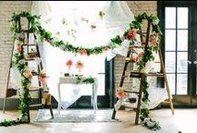 Aisles and Altars: Vintage / Vintage style wedding aisles and altars. #wedding #vintagewedding #vintageweddingstyle #vintageweddingdecor #vintagethemedwedding