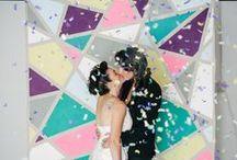 Aisles and Altars: Modern and Geometric / Modern and geometric aisles and altars for your modern wedding. #wedding #modernwedding #geometricwedding #modernweddingstyle #geometricweddingstyle #modernweddingdecor #geometricweddingdecor #modernthemedwedding #geometricthemedwedding