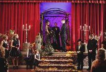 Aisles and Altars: Gothic and Rock 'n' Roll / Dark and beautiful aisles and altars for your gothic wedding. #wedding #gothicwedding #gothwedding #rocknrollwedding #darkwedding #tattoowedding #halloweenwedding #gothicweddingstyle #darkweddingstyle #halloweenweddingstyle #gothicthemedwedding #halloweenthemedwedding #darkthemedwedding #gothicweddingdecor #halloweenweddingdecor #darkweddingdecor