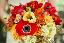 Bouquets: Orange and Brown / Orange and brown bridal bouquets. #wedding #weddingbouquet #bridalbouquet #orangebouquet #orangebridalbouquet #orangeweddingbouquet  #brownbouquet #brownbridalbouquet #brownweddingbouquet