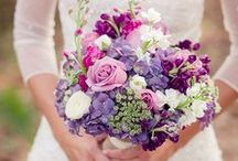 """Bouquets: Lavender, Purple, and Black / Lavender, purple, and """"black"""" bridal bouquets. #wedding #weddingbouquet #bridalbouquet #lavenderbouquet #lavenderbridalbouquet #lavenderweddingbouquet #purplebouquet #purplebridalbouquet #purpleweddingbouquet #blackbouquet #blackbridalbouquet #blackweddingbouquet"""