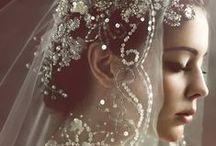 Bridal Headgear: Veils / Traditional and not so traditional bridal veils. #wedding #bridal #bridalaccessories #weddingaccessories #headpiece #bridalheadpiece #bridalstyle #weddingstyle #bridalhair #weddinghair #veil #bridalveil #weddingveil #bubbleveil #cathedrallengthveil #classicbridal #blusher #bridalblusherveil #blusherveil #mantilla