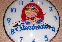 Vintage Thermometers,Clocks&Calendars / VintageThermometers, Clocks and Calendars  Please - Follow me or my boards for unlimited pinning! Thank you!