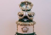 Cakes: Rococo and Old World / Luxurious wedding cakes with an old world and rococo details.  #wedding #cake #weddingcake #rococowedding #rocococake #rococoweddingcake #oldworldwedding #oldworldcake #oldworldweddingcake #antoinette #antoinettethemedwedding #marieantoinettethemedweddingcake #antoinetteweddingcake #luxurywedding #luxurycake #luxuryweddingcake #couturewedding #couturecake #coutureweddingcake