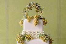 Cakes: Vineyard / Vineyard inspired wedding cakes.  #wedding #cake #weddingcake #vineyardweddingg #vineyardcake #vineyardweddingcake #winerywedding #winerycake #wineryweddingcake #winethemedwedding #winecake #wineweddingcake