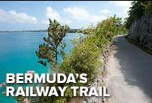 Bermuda's Railway Trail / Bermuda's Railway Trail is one of the best activities to explore the island. Filled with history, this 22-miles long adventure takes you by bike or on feet through the whole island.