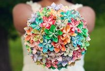 Bouquets: Paper and Clay / Bridal bouquets made of paper. #wedding #weddingbouquet #bridalbouquet #paperflowers #paperbouquet #paperbridalbouquet #paperweddingbouquet #alternativebouquet #alternativebridalbouquet #alternativeweddingbouquet #bouquetalternative #bridalbouquetalternative #weddingbouquetalternative